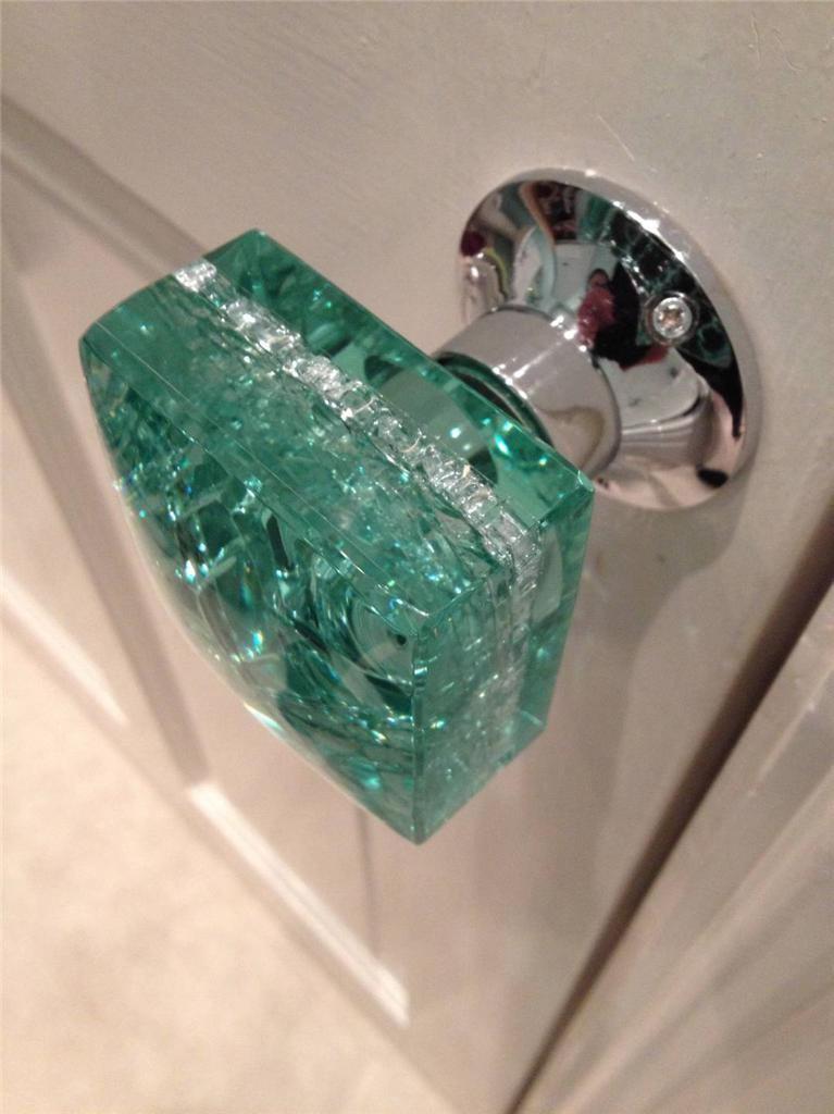 modern glass door knobs photo - 12
