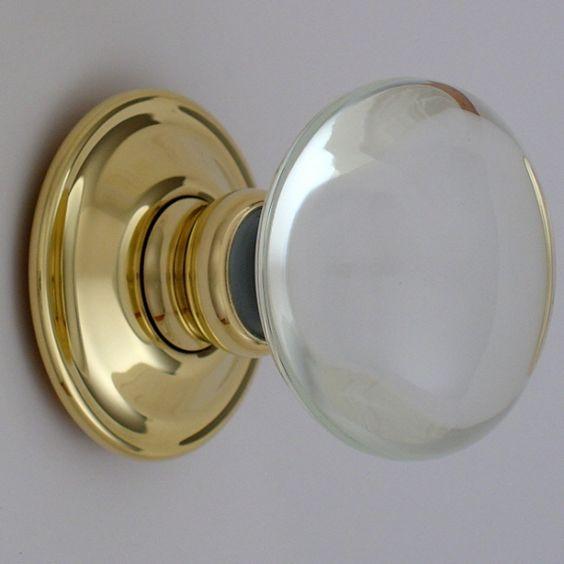 modern glass door knobs photo - 16