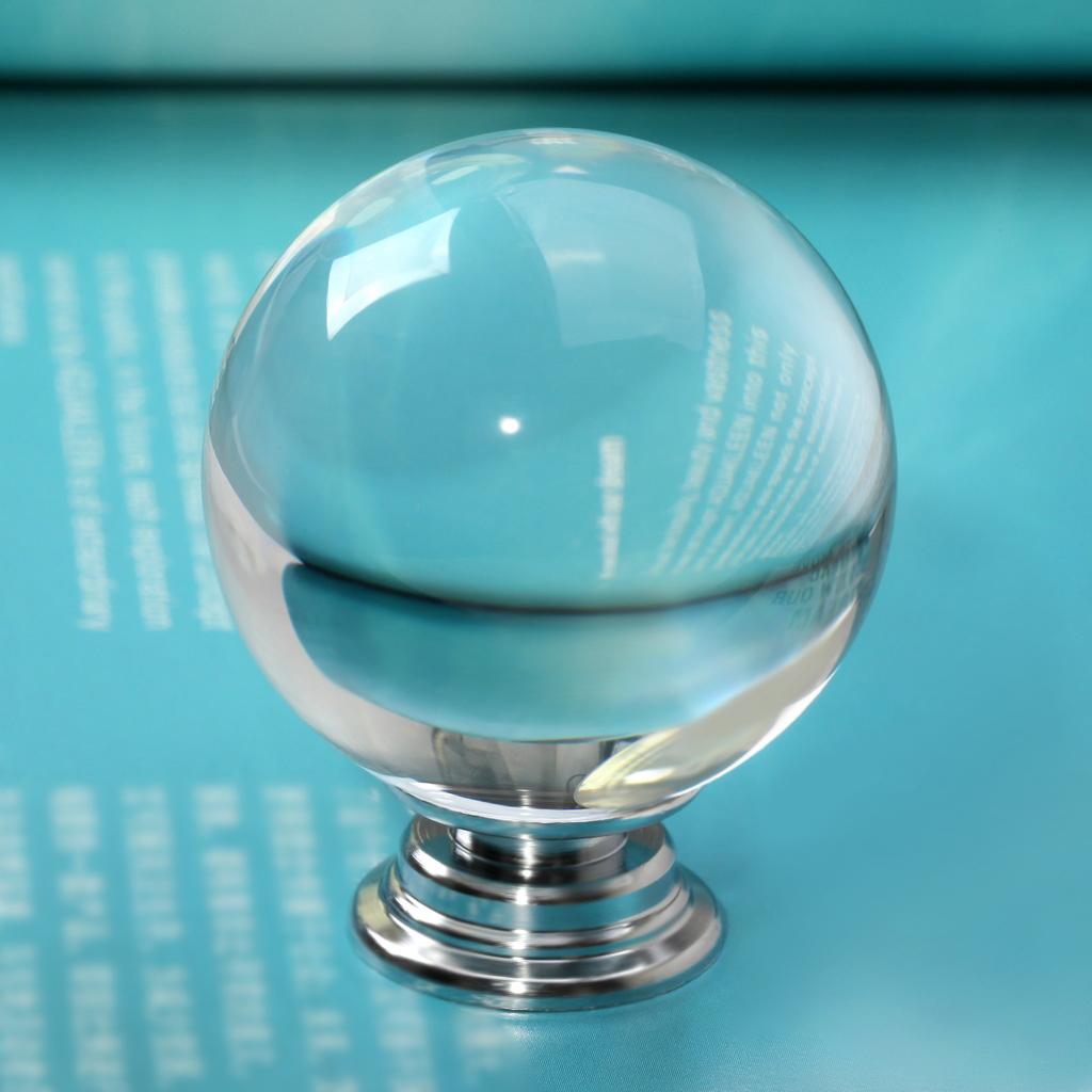 modern glass door knobs photo - 2