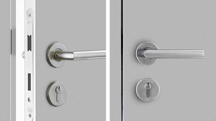 modern interior door knobs photo - 17