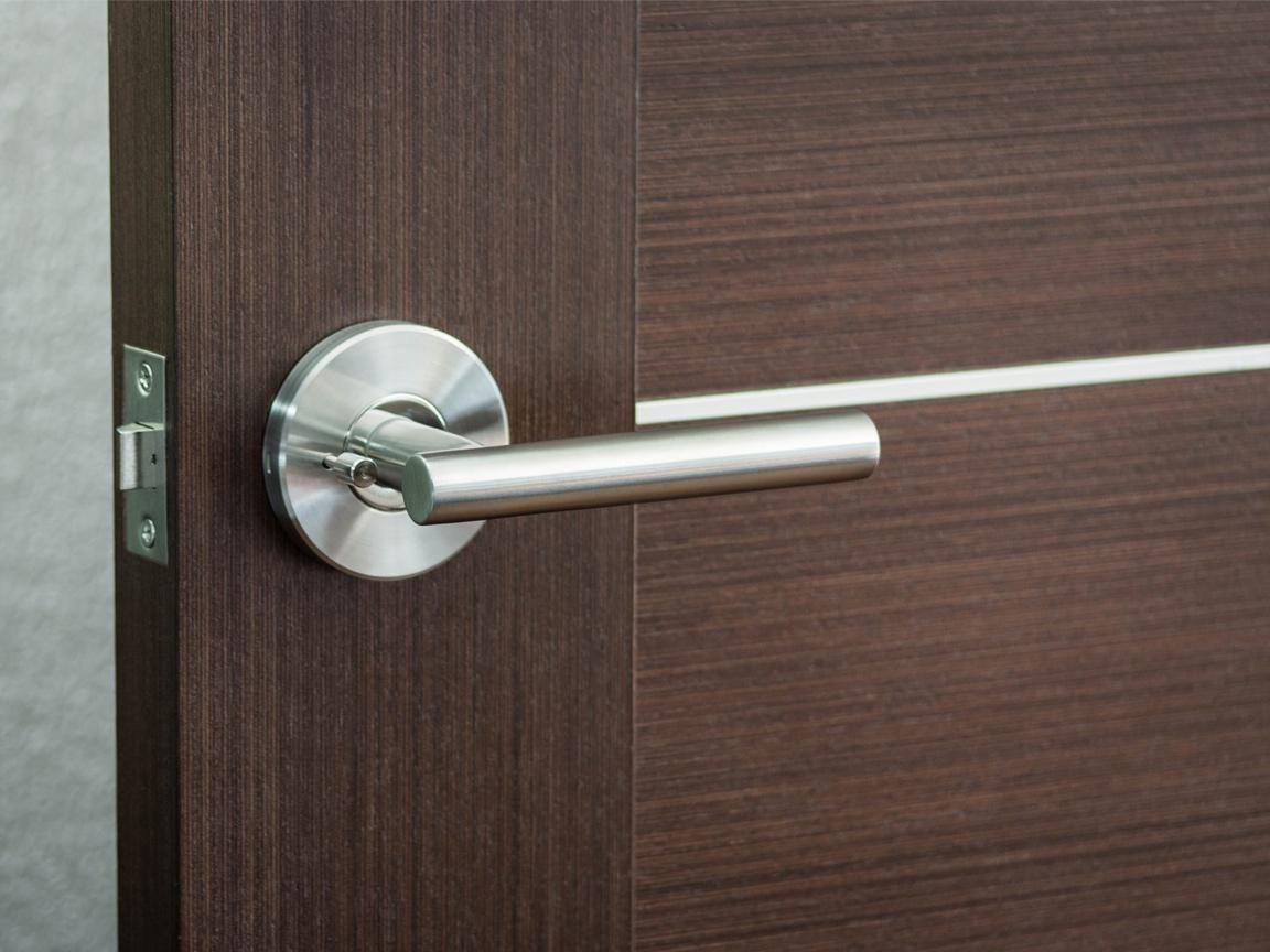 modern interior door knobs photo - 7