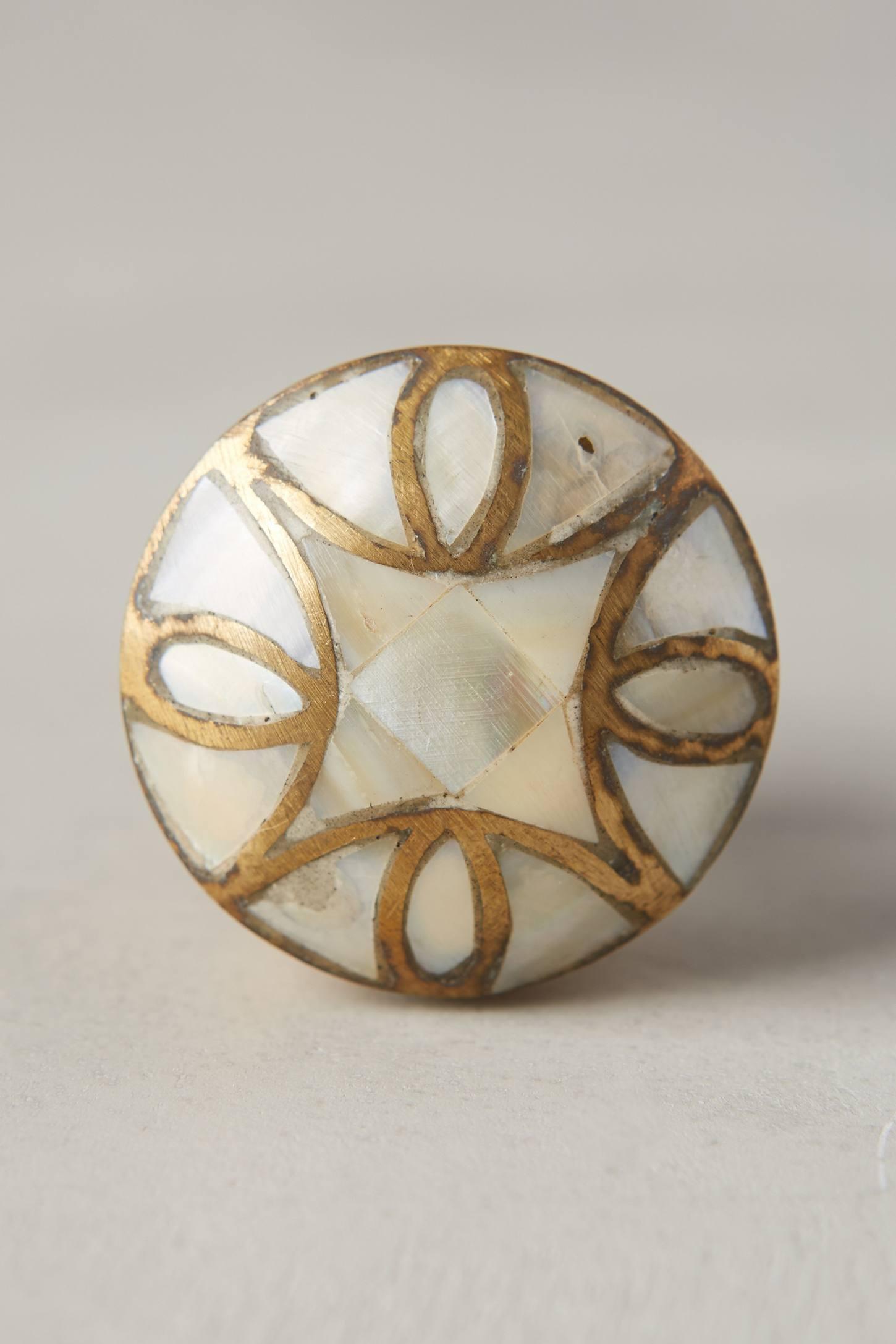 mother of pearl door knobs photo - 5