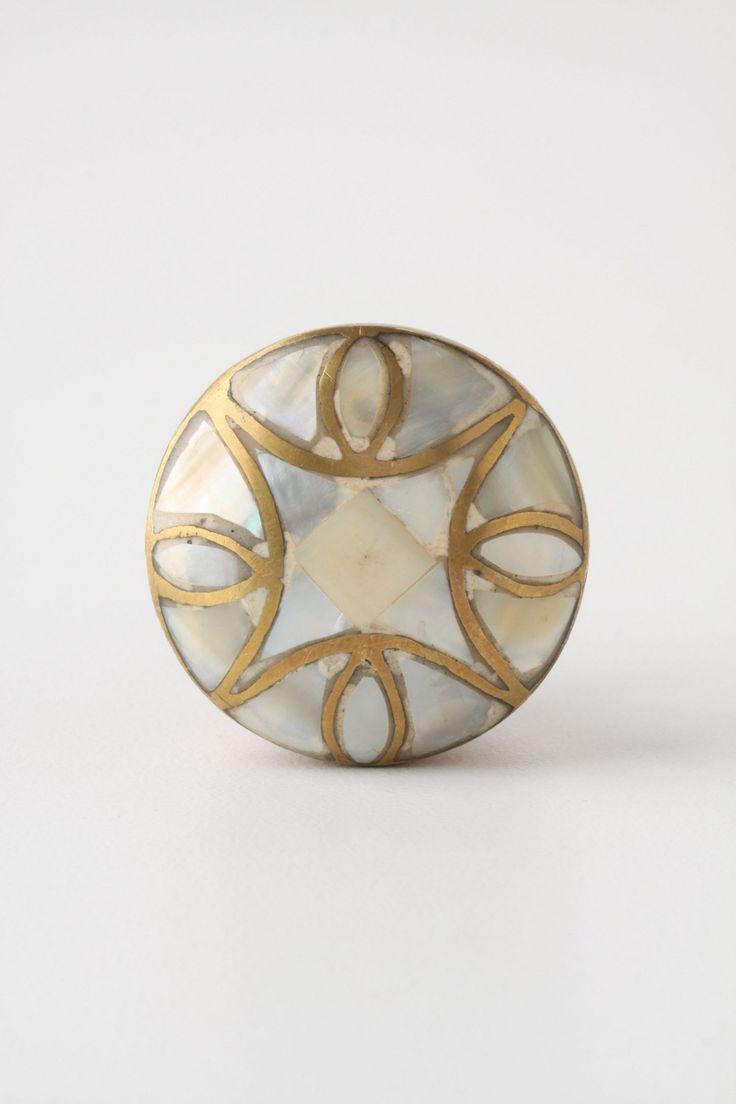 mother of pearl door knobs photo - 6