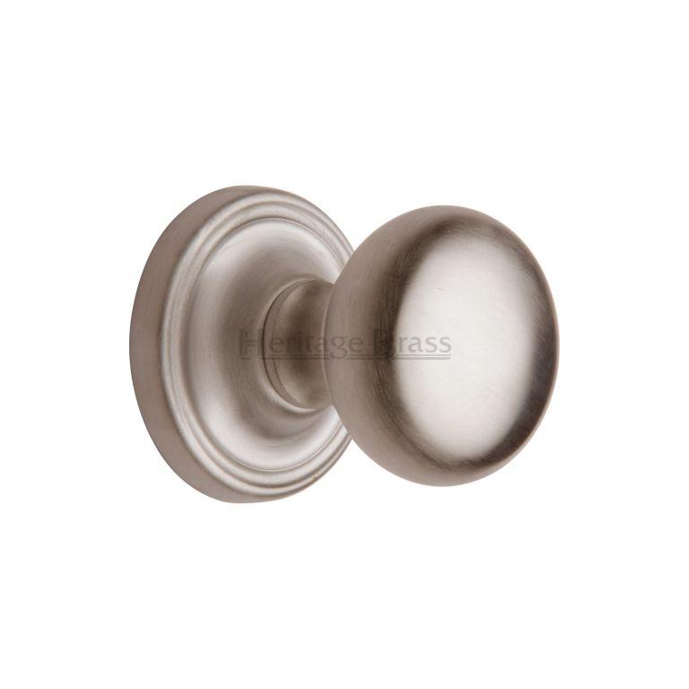 nickel door knobs photo - 11