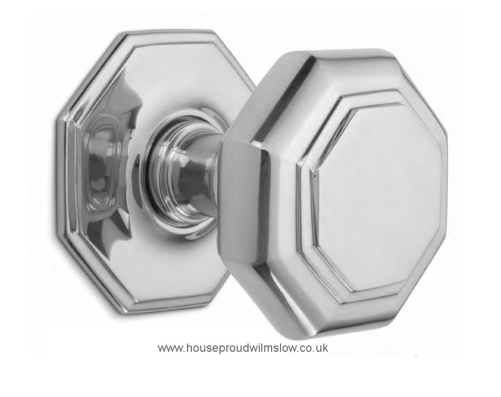 octagonal door knob photo - 1