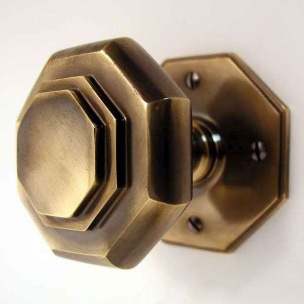octagonal door knob photo - 15