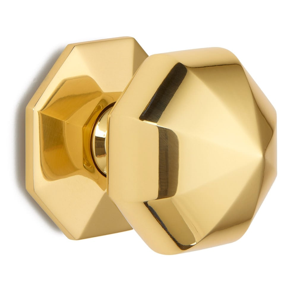 octagonal door knob photo - 4