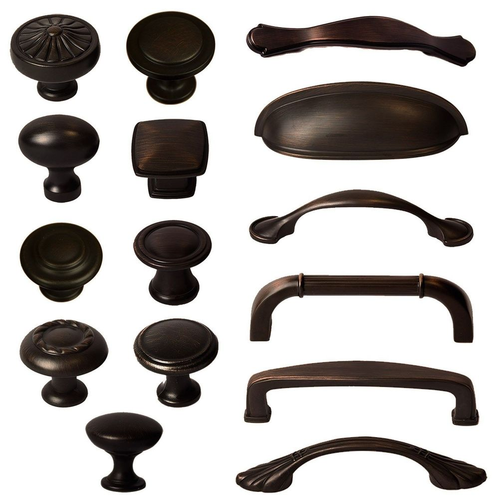 oil rubbed bronze cabinet door knobs photo - 11