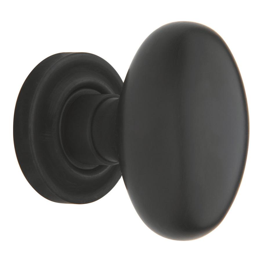 oiled rubbed bronze door knobs photo - 1