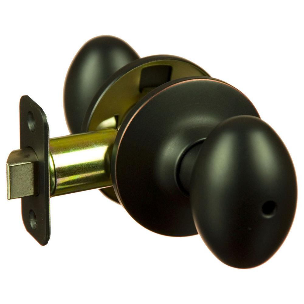 oiled rubbed bronze door knobs photo - 17