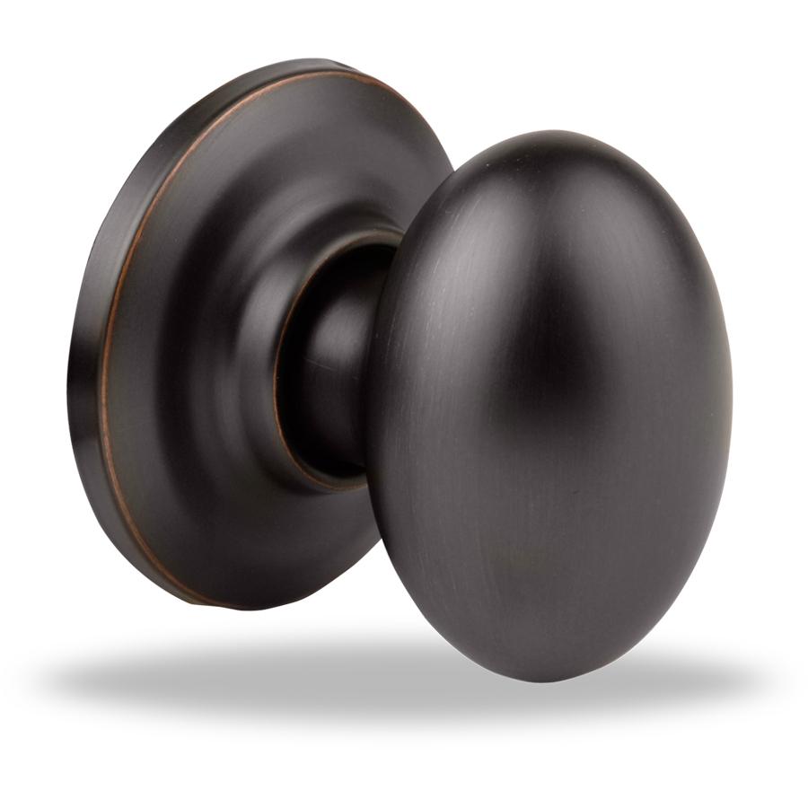 oiled rubbed bronze door knobs photo - 3