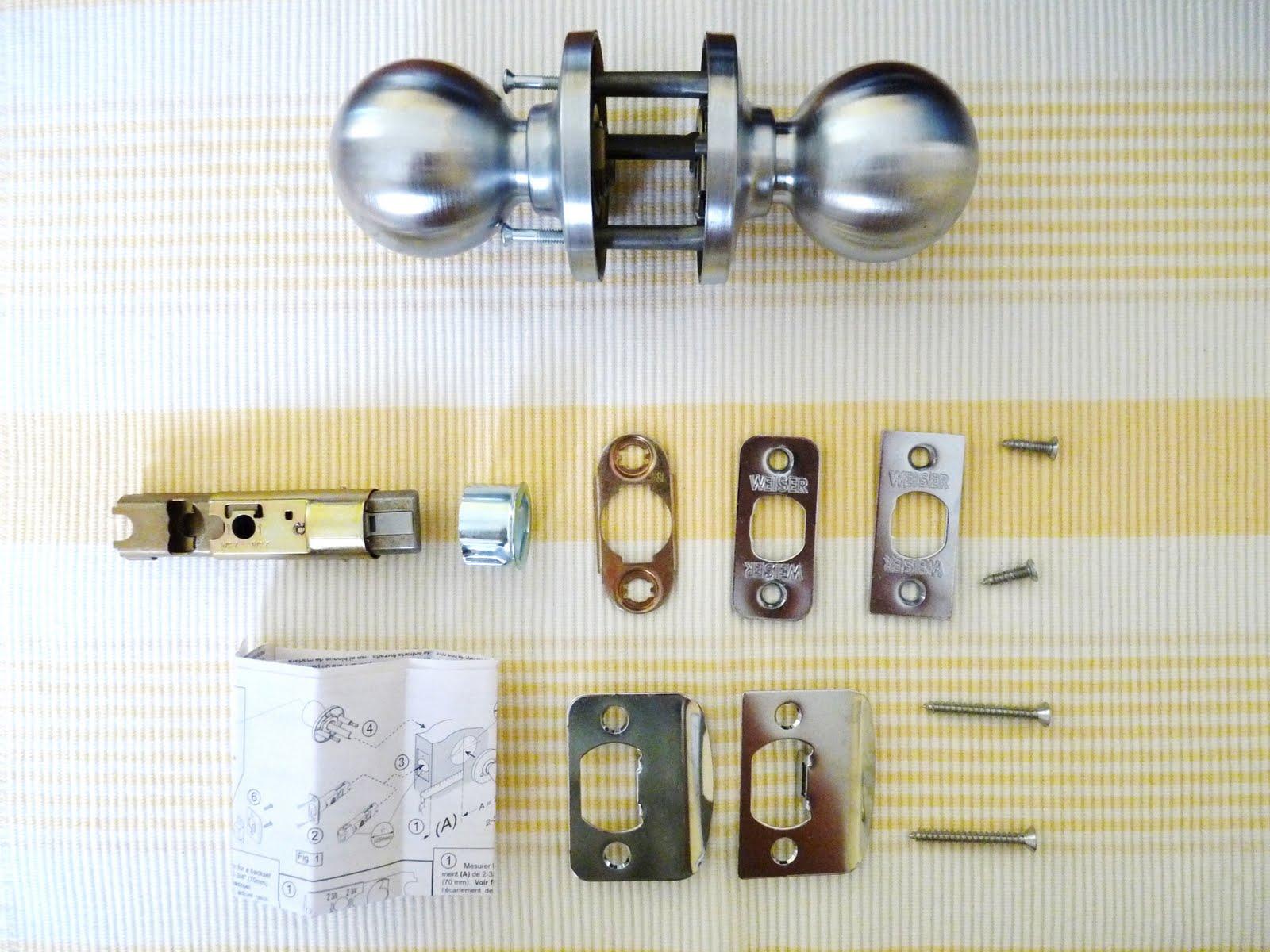 old door knob parts photo - 11