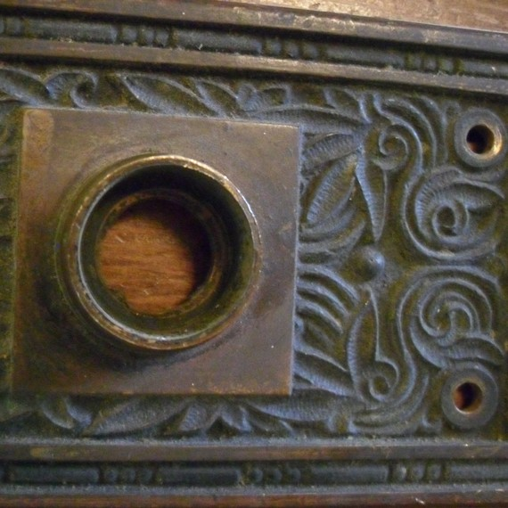 old door knobs and plates photo - 8