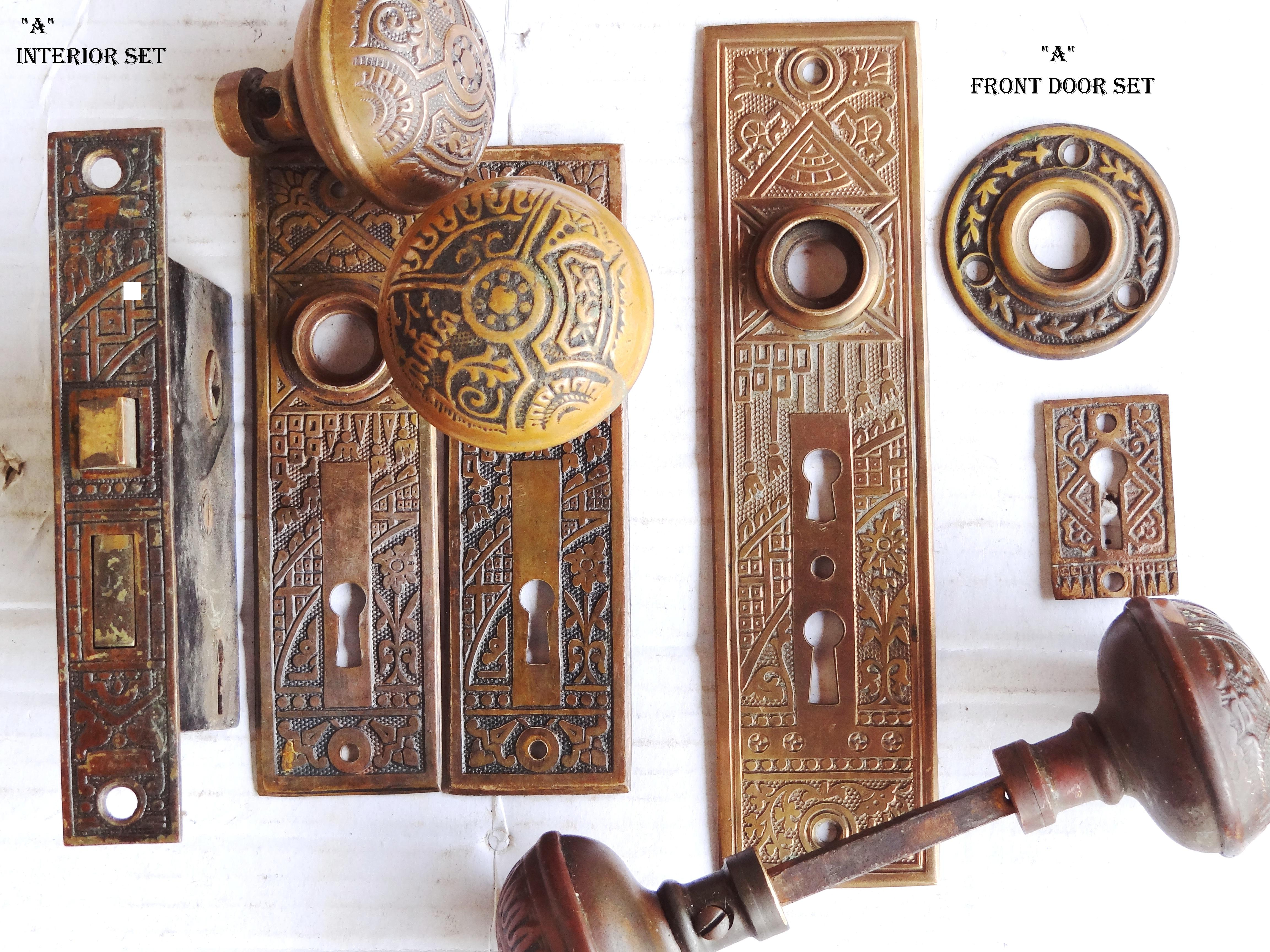 old fashioned door knobs hardware photo - 7