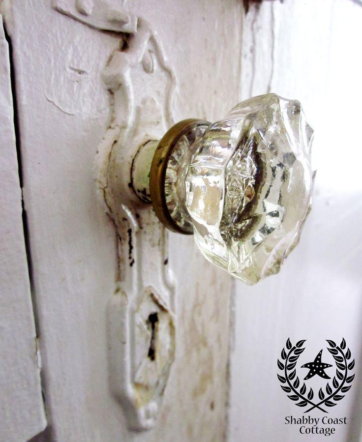 Old fashioned glass door knobs – Door Knobs