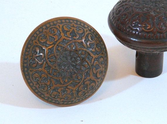 ornate door knobs photo - 1