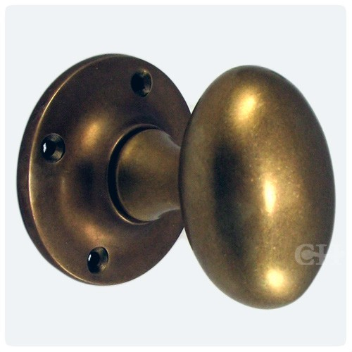 oval brass door knobs photo - 13