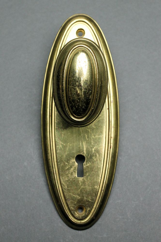 Oval door knob – Door Knobs