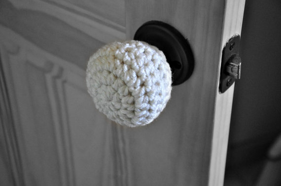 padded door knob covers photo - 3