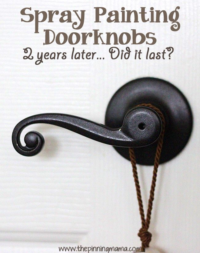 painting door knobs photo - 3