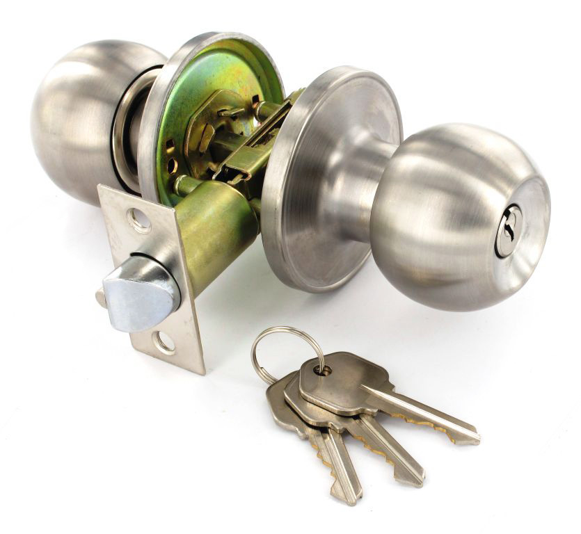passage door knob set photo - 1