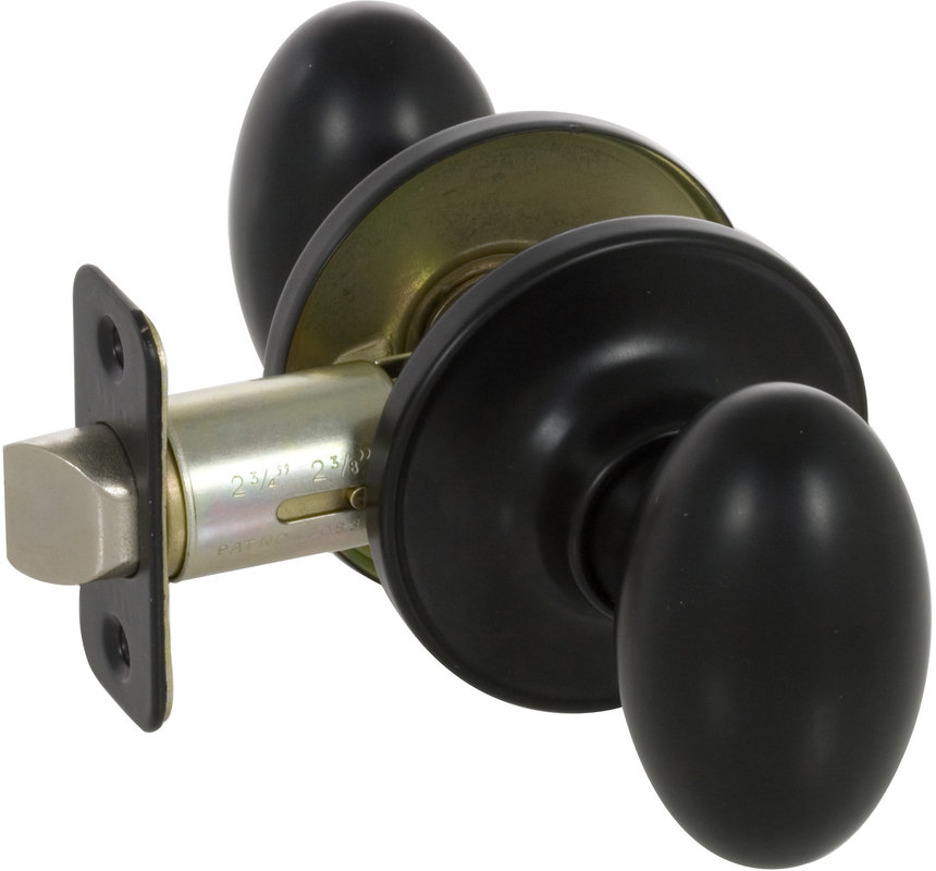 passage door knob set photo - 19