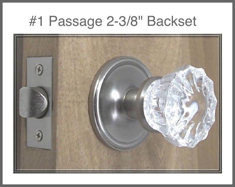 passage door knob sets photo - 16