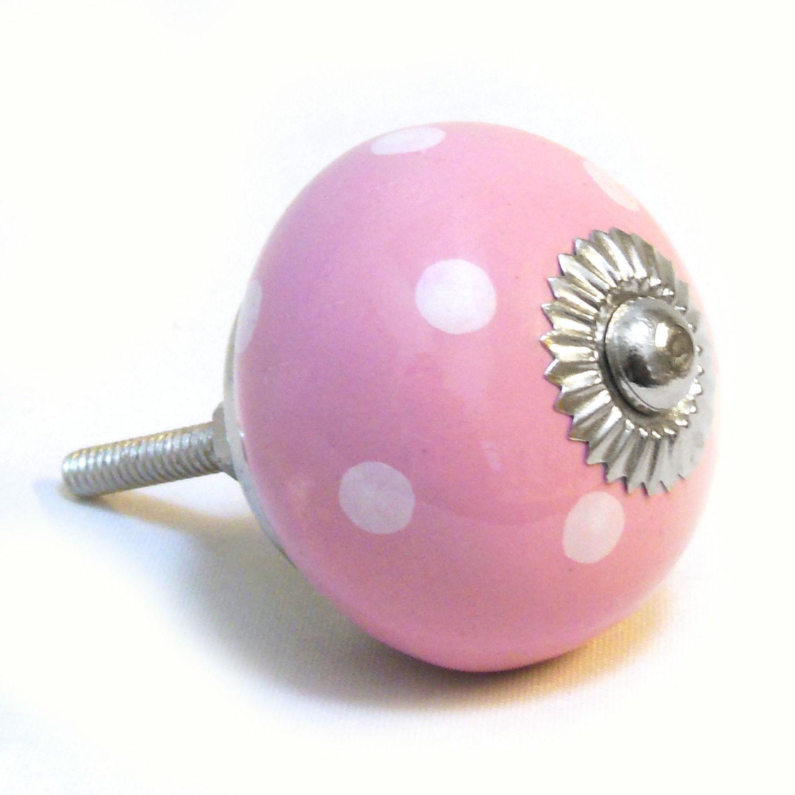 pink door knob photo - 2