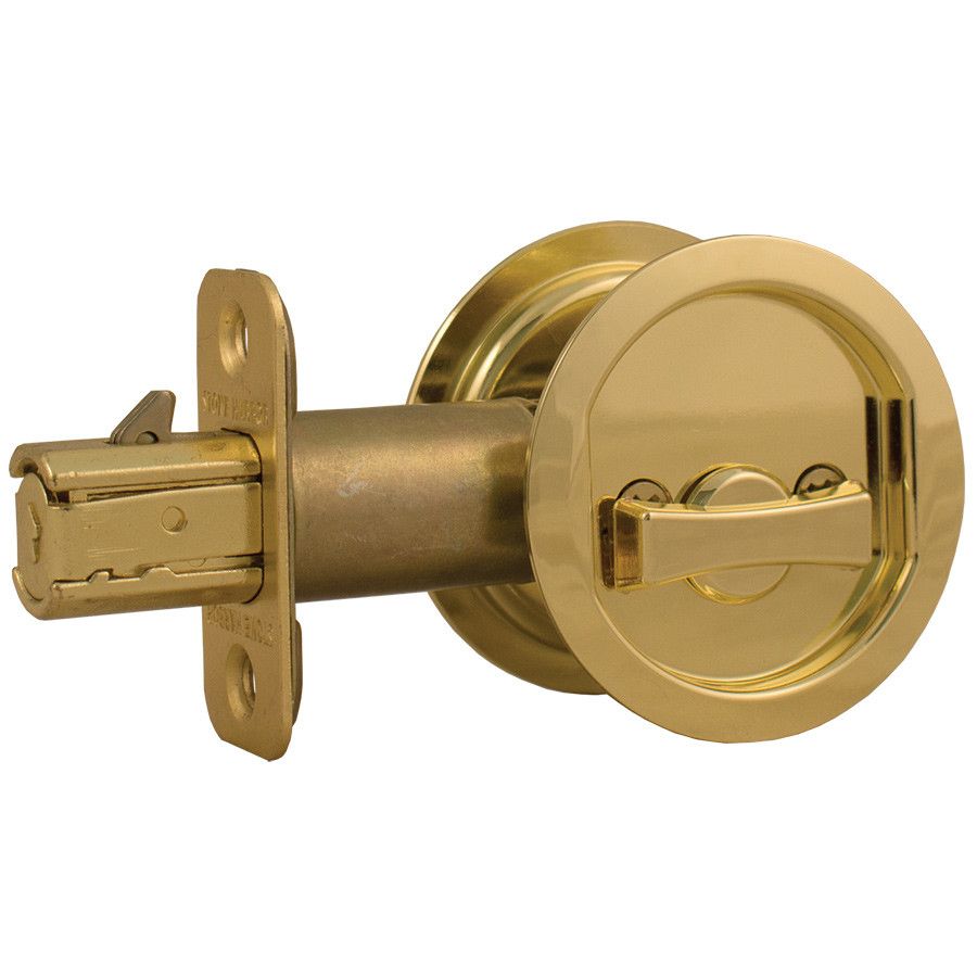 pocket door knobs photo - 16