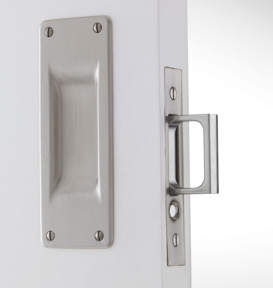 pocket door knobs photo - 8
