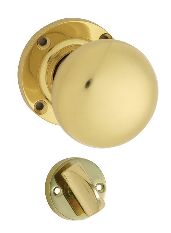 Polished brass door knobs – Door Knobs