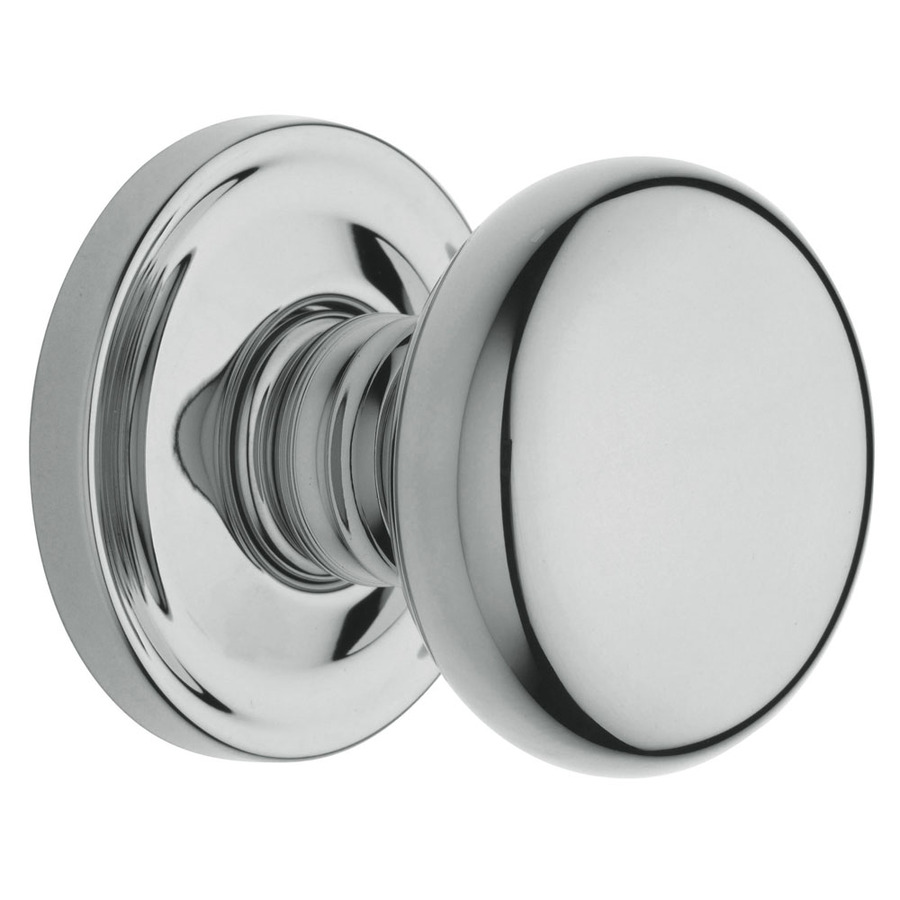 polished chrome door knobs photo - 1