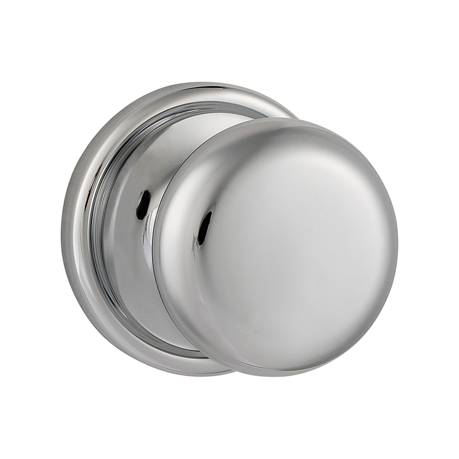 polished chrome door knobs photo - 10