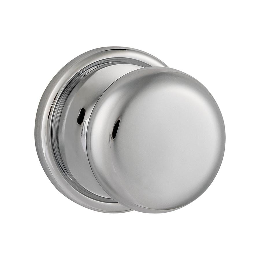 polished chrome door knobs photo - 10