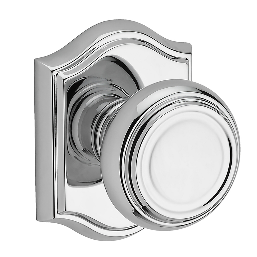 polished chrome door knobs photo - 15