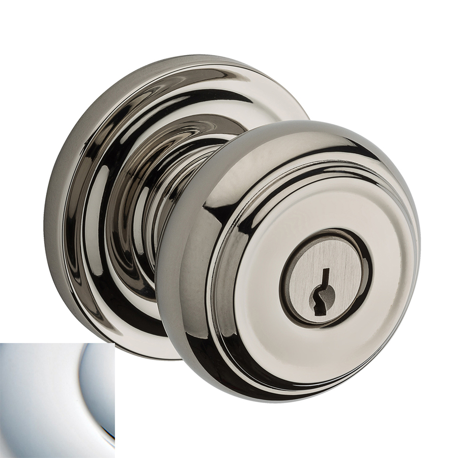polished chrome door knobs photo - 18