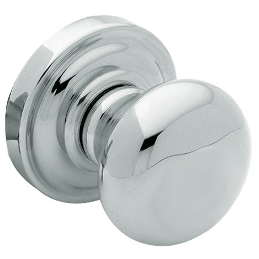 polished chrome door knobs photo - 8
