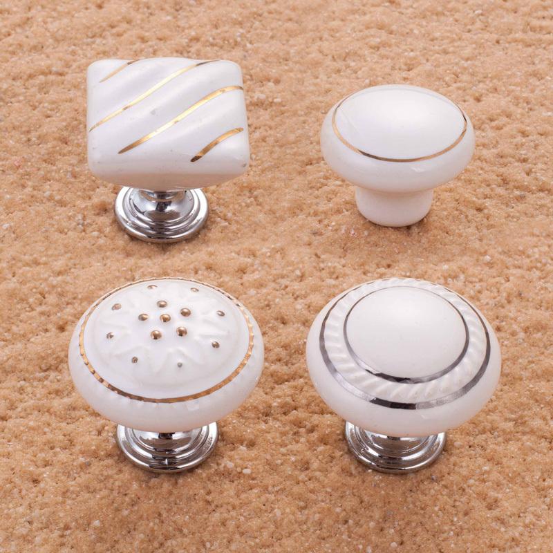 porcelain cupboard door knobs photo - 15