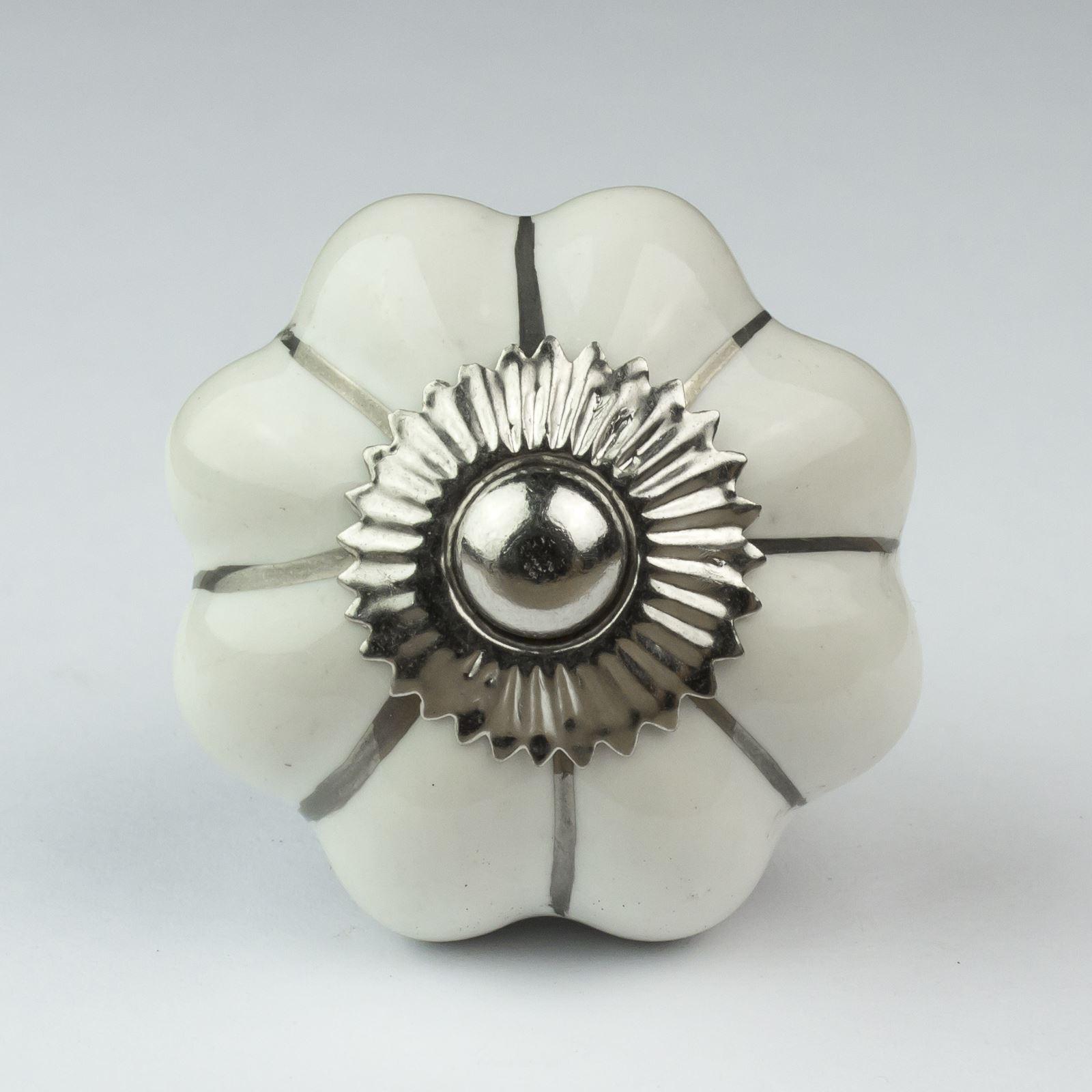 porcelain cupboard door knobs photo - 18