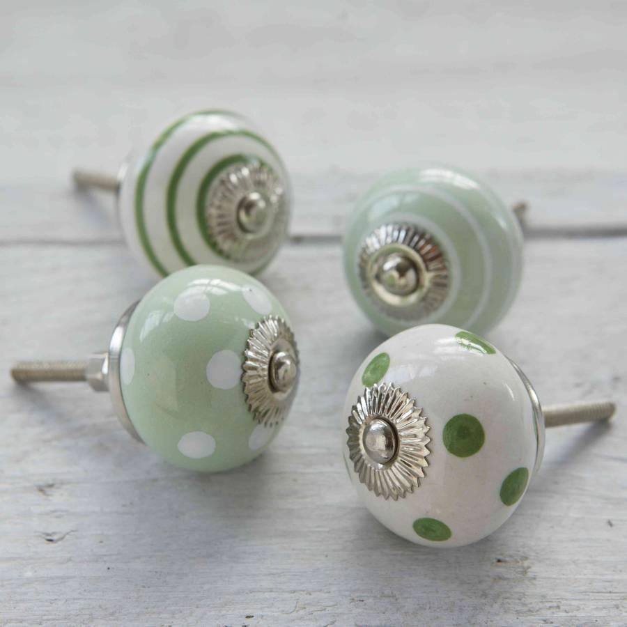 porcelain cupboard door knobs photo - 4