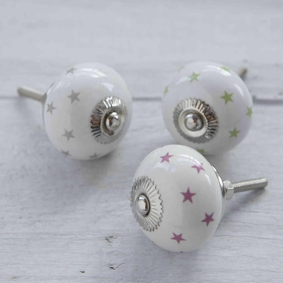 porcelain cupboard door knobs photo - 7