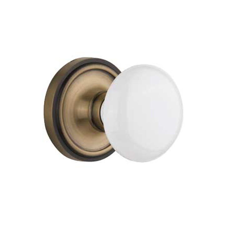 porcelain door knob set photo - 17