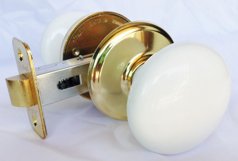 porcelain door knob sets photo - 2