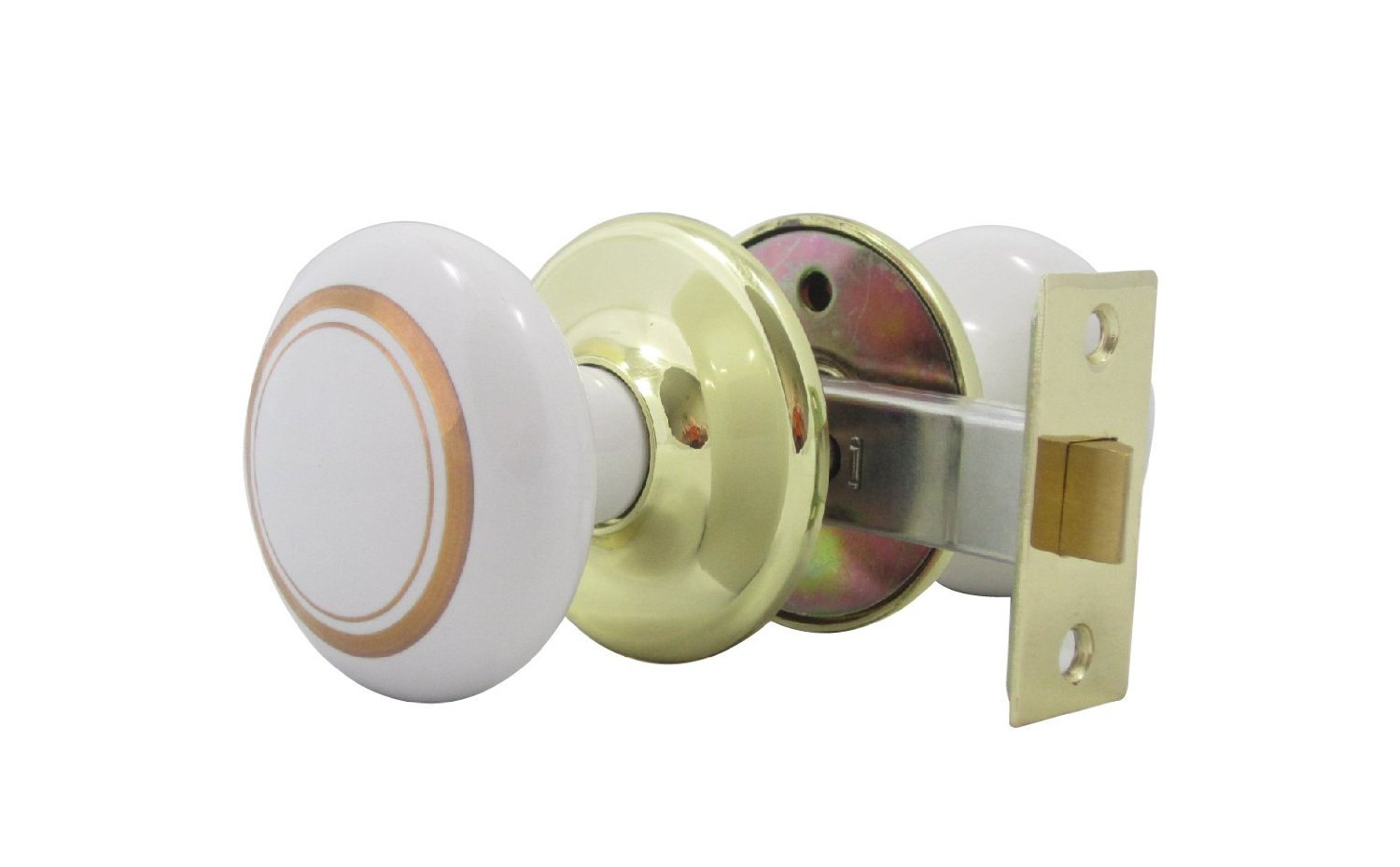 porcelain door knob sets photo - 8