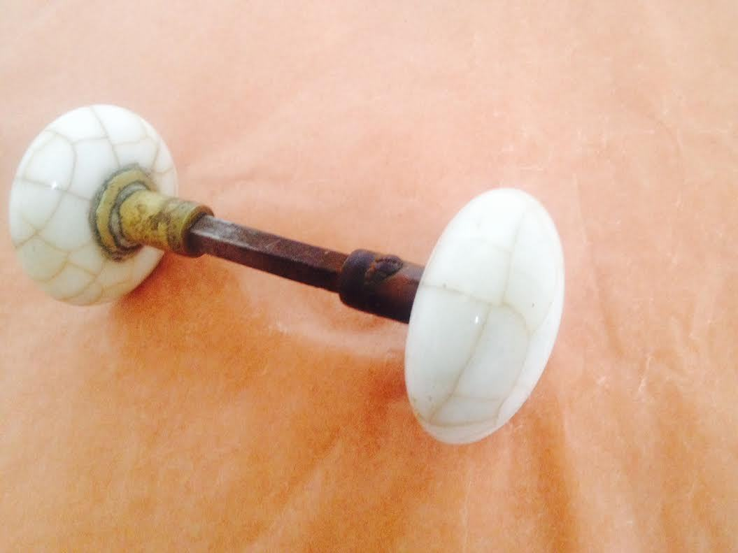 porcelain door knobs antique photo - 10