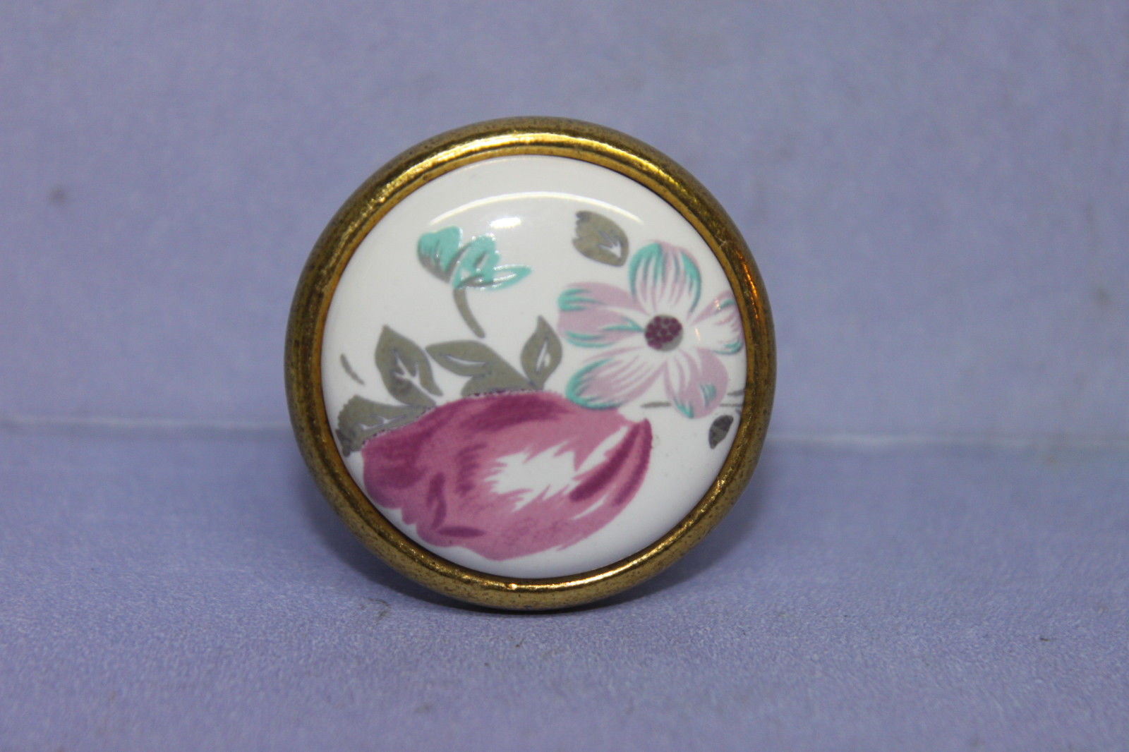 porcelain door knobs floral photo - 14