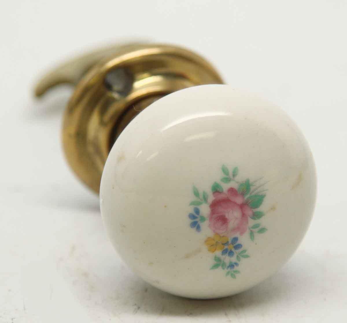 porcelain door knobs floral photo - 4