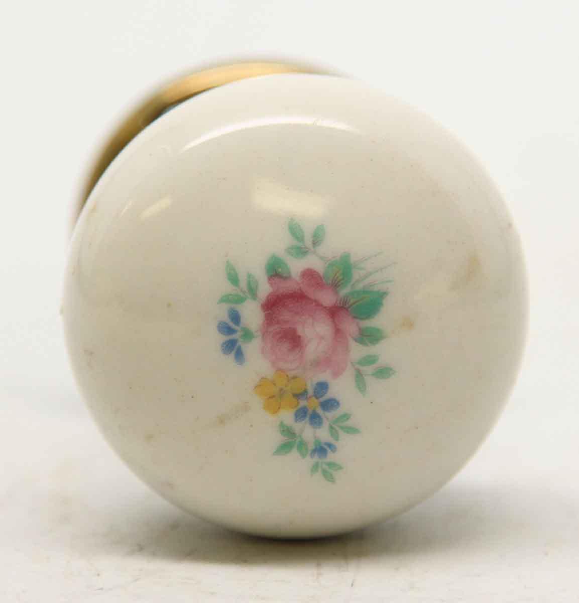 porcelain door knobs floral photo - 7