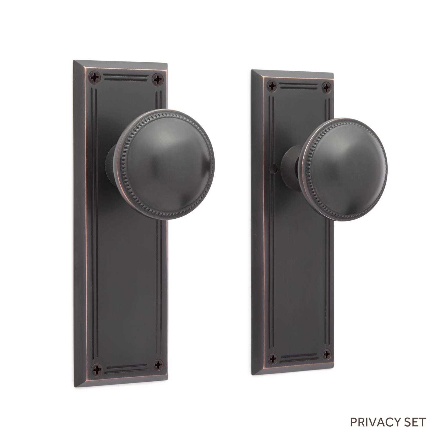 privacy door knob set photo - 10