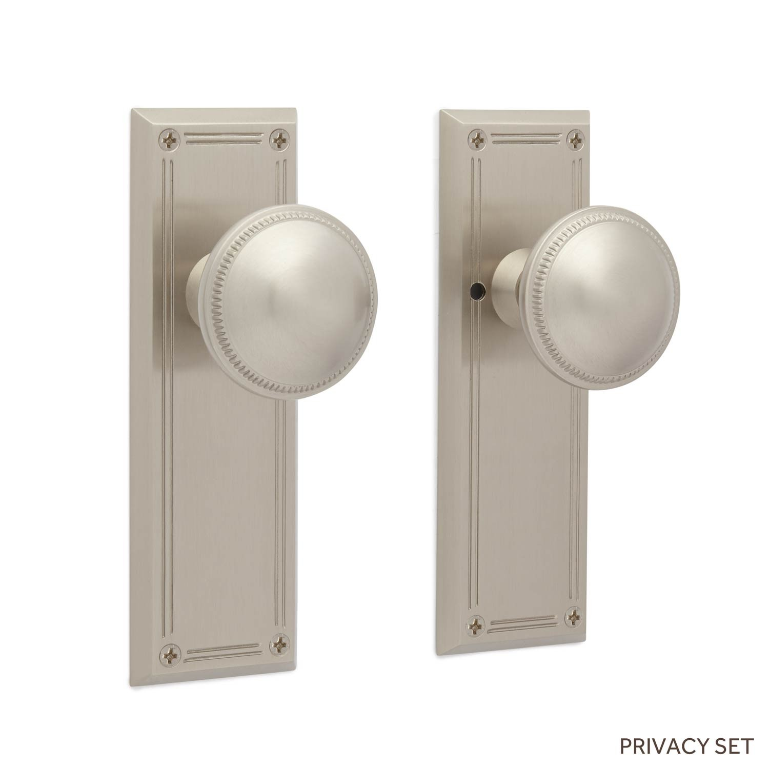 privacy door knob set photo - 11